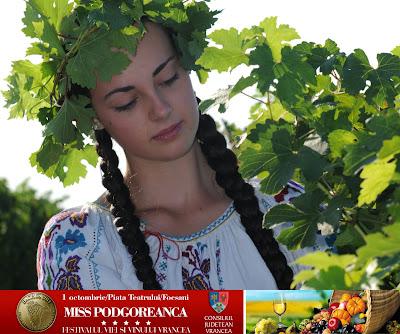 Miss podgoreanca - Festivalul Vinului Focsani 2011