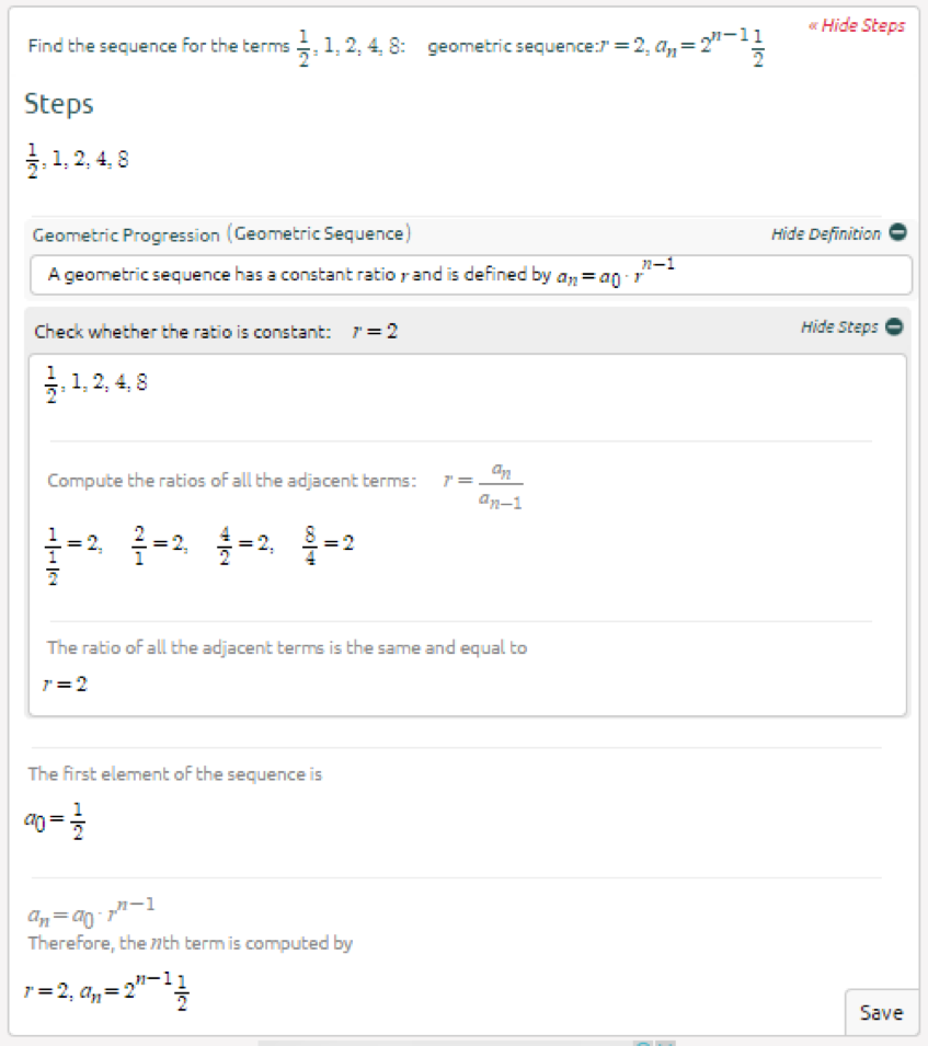Symbolab Blog High School Math Solutions Sequence Calculator  High School Math Solutions Sequence