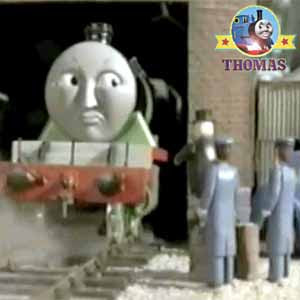 The Fat Controller Henry the green engine Island of Sodor Ffarquhar branchline Thomas railway tunne