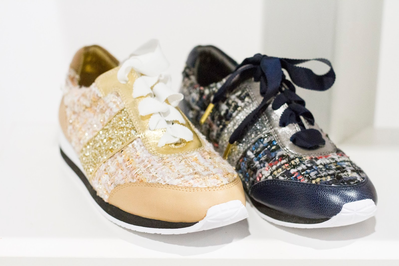 kate spade new york fall 2015 shoe collection fn platform tweed glitter sneakers