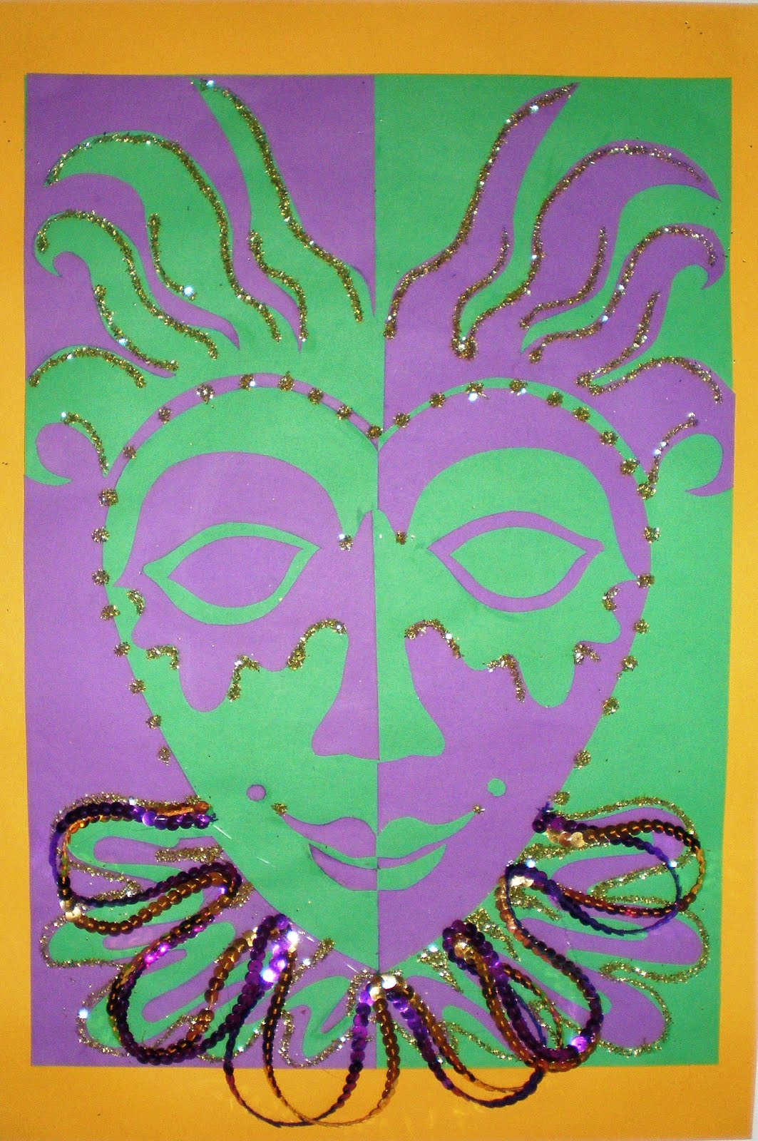 Learn to teach teach to learn mardi gras masks gr 4 for Mardi gras masks crafts