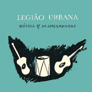 Legião Urbana Música Para Acampamentos CD Capa