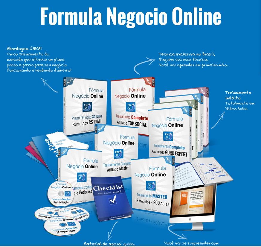 Formula Negocio Online, Como ganhar dinheiro na internet