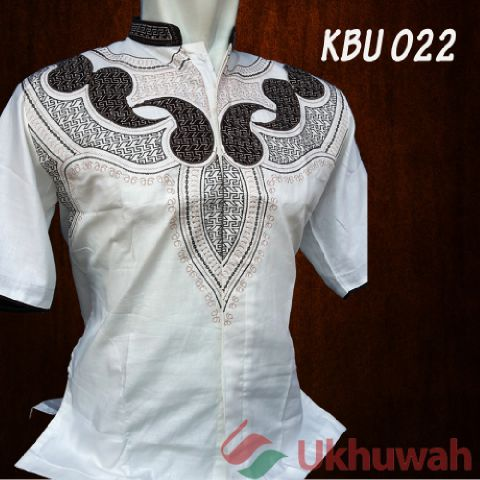 Ukhuwah Baju Koko Bordir Kbu 016 Putih Lazada Indonesia