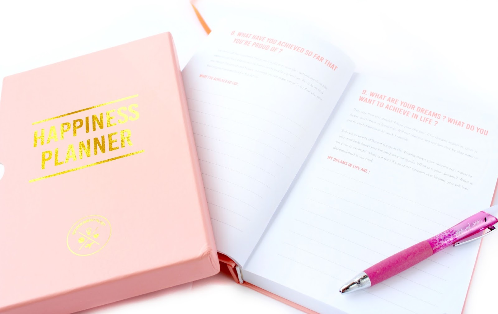 The Happiness Planner Giveaway