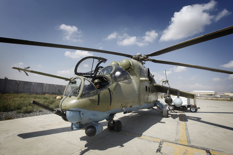 Pakistan Shows Interest in Purchase of Russian Mi-35 ...