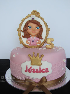 cake vintage princess disney