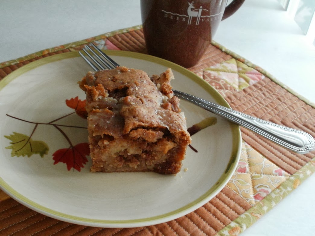 ... That! ...by eamylove: Apple Dapple Cake for Across The Pond Sew Along