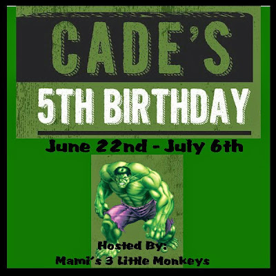 Sign up to host the Cade's 5th Birthday Bash Blogger Opp.