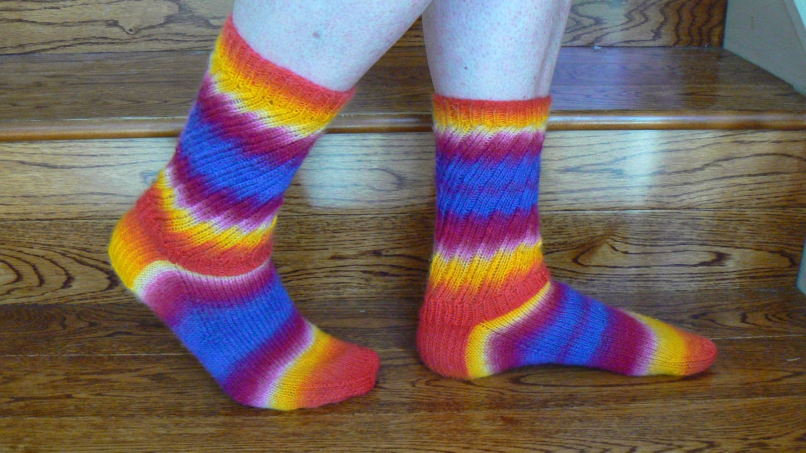 Fruit stripe gum socks