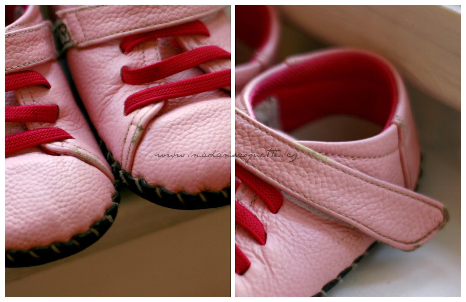 Na botech jsou patrné drobné oděrky kůže - na první pohled nejsou ani moc  vidět a na funkci boty nic nemění. Naopak jsem překvapená fc485b641f