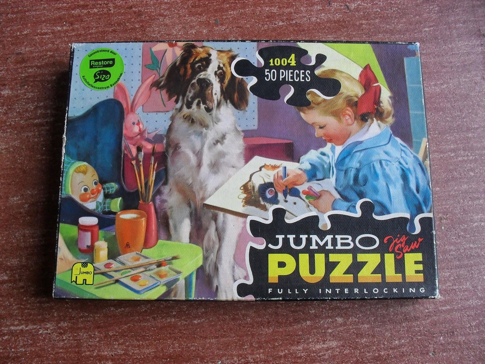 nostalgic children's puzzle