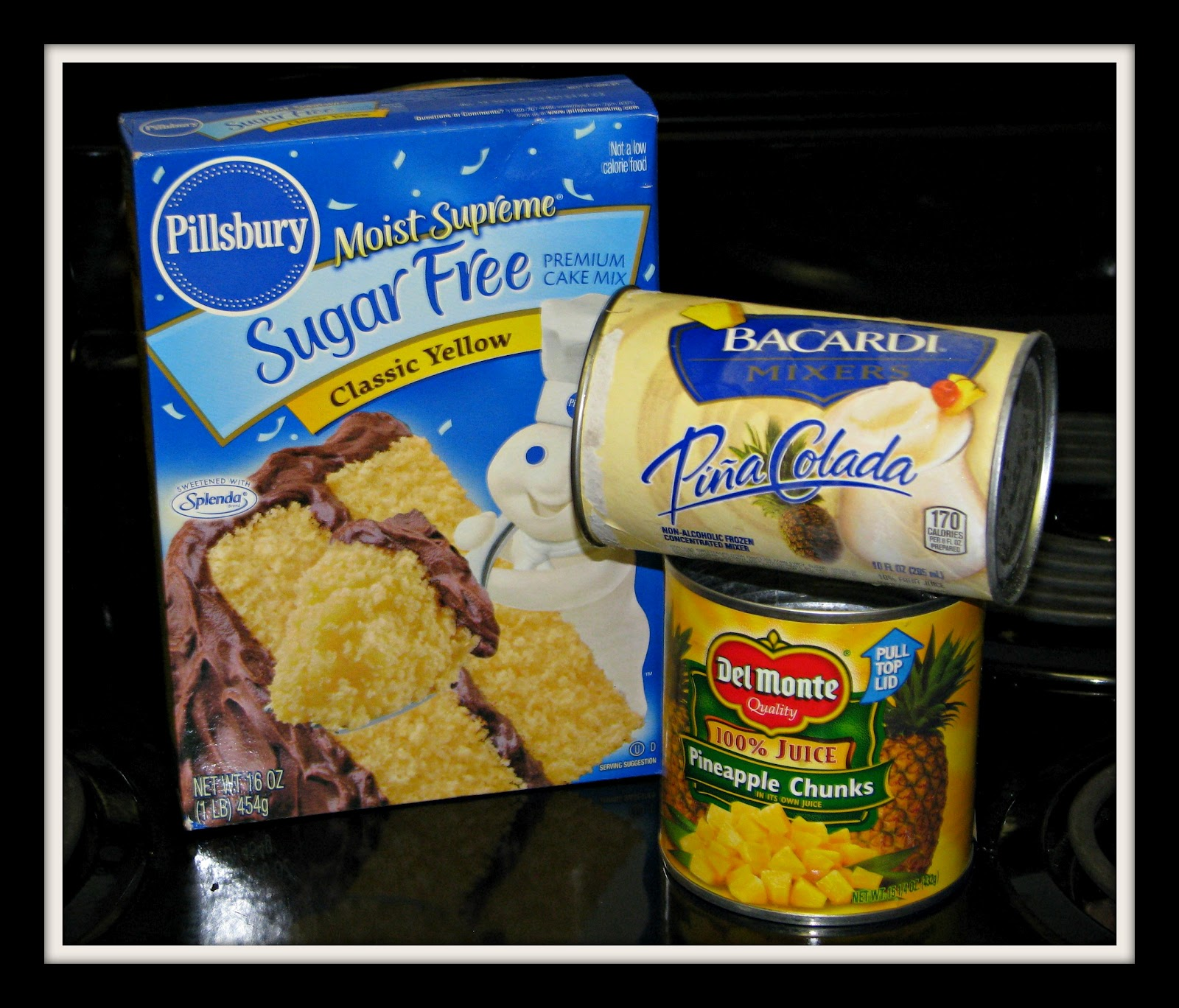 Pillsbury Sugar Free Cake Mix