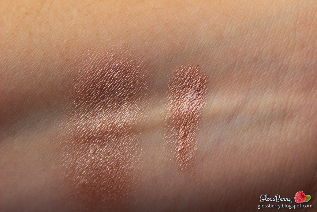 Estee Lauder - Pure Color Stay On Shadow Paint - Pink Zinc review swatches צללית קרם אסתי לאודר בז' ורוד