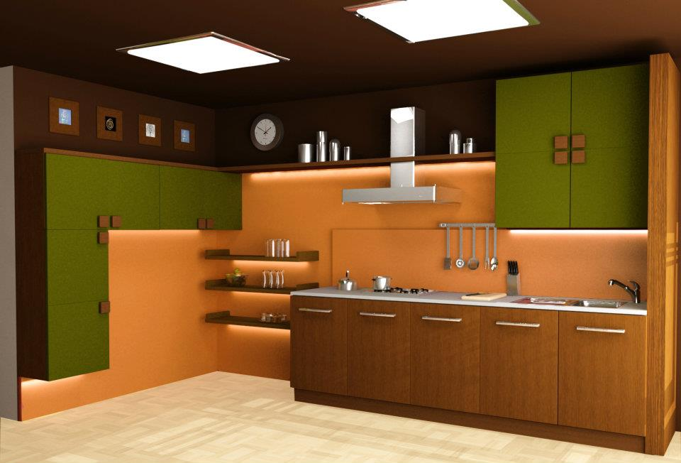 Furniture guru modular kitchens quite the rage for Kitchen design images india