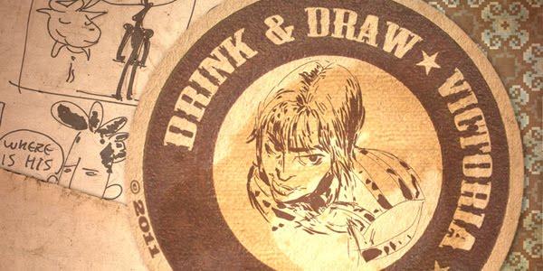 Drink & Draw Victoria