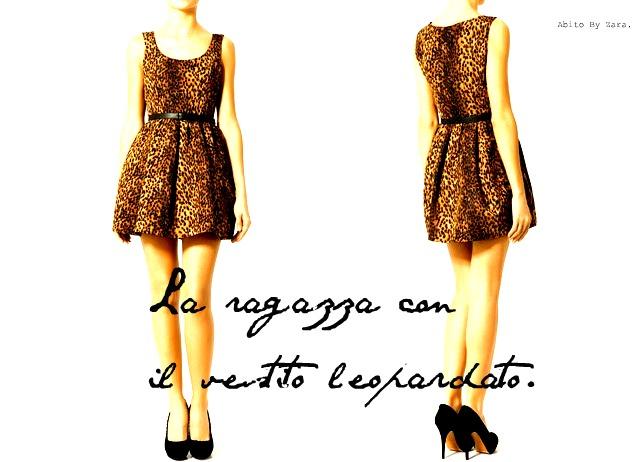 La ragazza con il vestito leopardato
