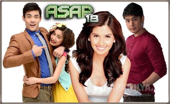 Kim & Xian, Shamcey Supsup and Coco Martin Joins ASAP 18 Supah Power (July 28)