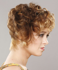 Casual Short Curly