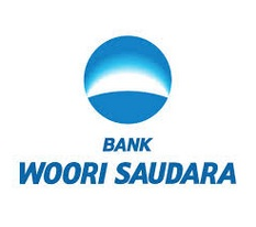 Logo PT Bank Woori Saudara 1906