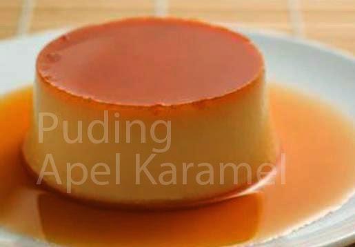 Resep Puding Apel Karamel