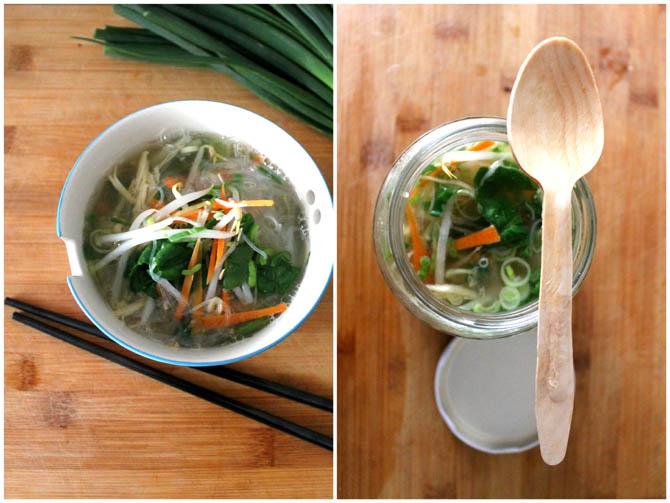 Instant Noodle Soup