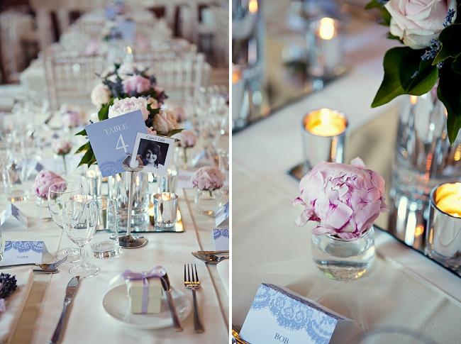 Ideias para casamento e festa Decoração casamento lilás e rosa