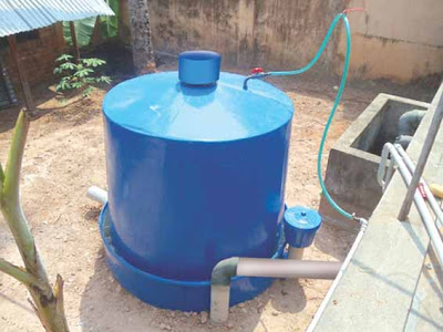 Portable Model Biogas plant in kerala