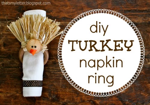 diy turkey napkin ring