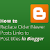 I will learn you now How to Replace Older Newer Post buttons with Post Titles in Blogger