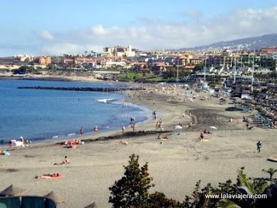 Playa Fanabe, Costa Adeje, Tenerife