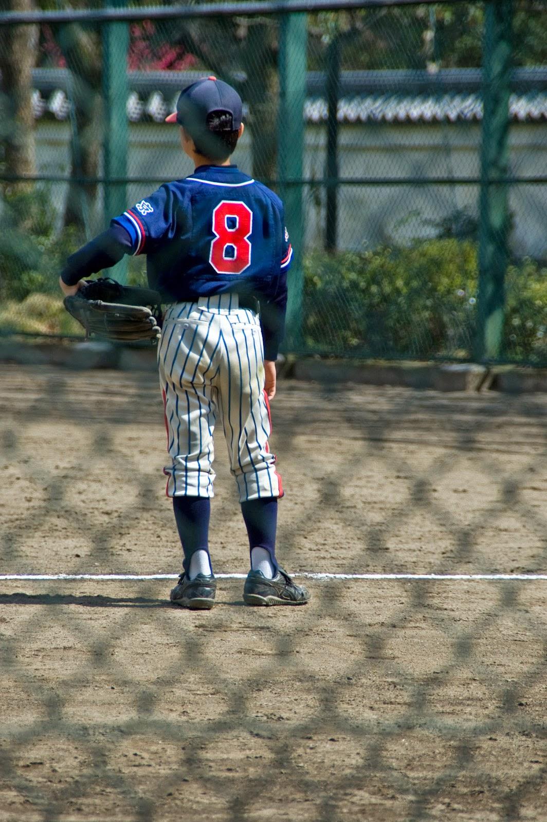 少年野球の選手