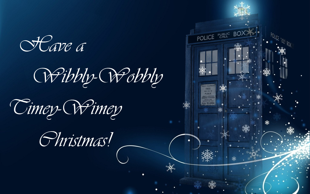 The Frazzled CrafterWibbly Wobbly Timey Wimey Facebook Cover