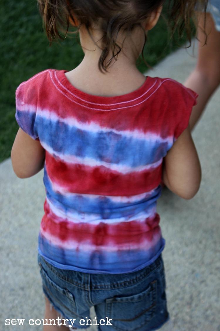 Tie Dye Stripes