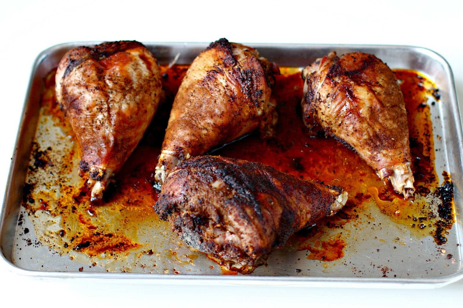 Milk and Honey: Caveman Pops (aka Roasted Turkey Legs)
