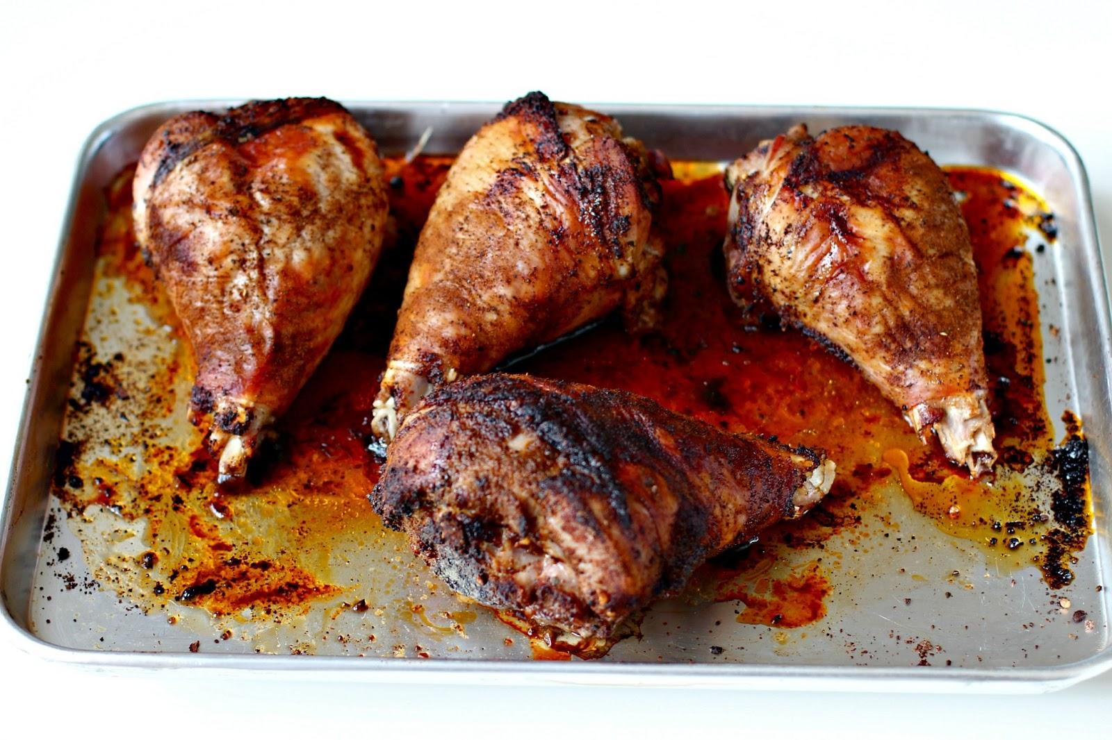 Milk and Honey: Caveman Pops (aka Roasted Turkey Legs)