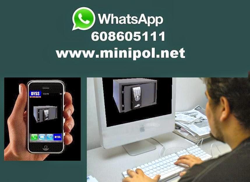Presupuestos asistencia técnica de cajas fuertes por WhatsApp