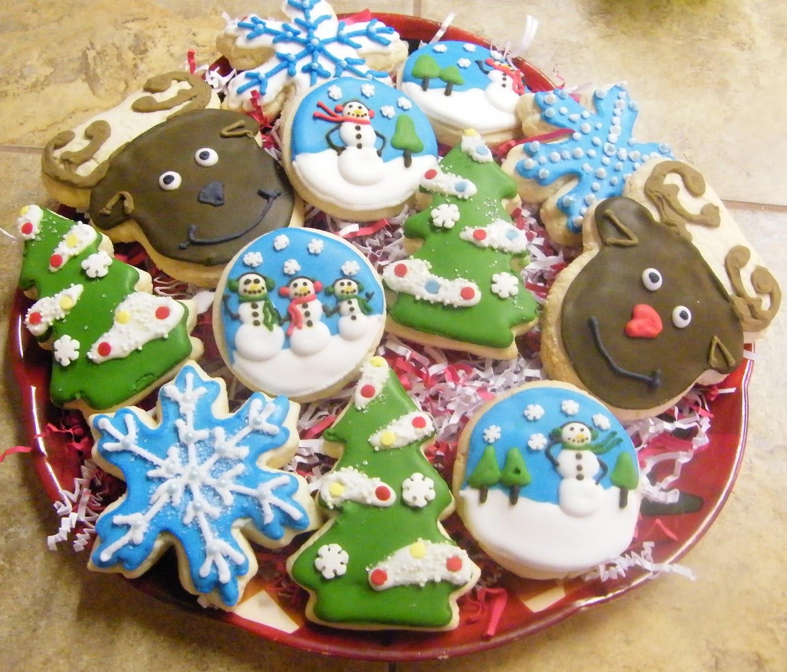 CedarGap Creations Cookies: SNOWMAN, REINDEER Christmas Cookie Gift ...