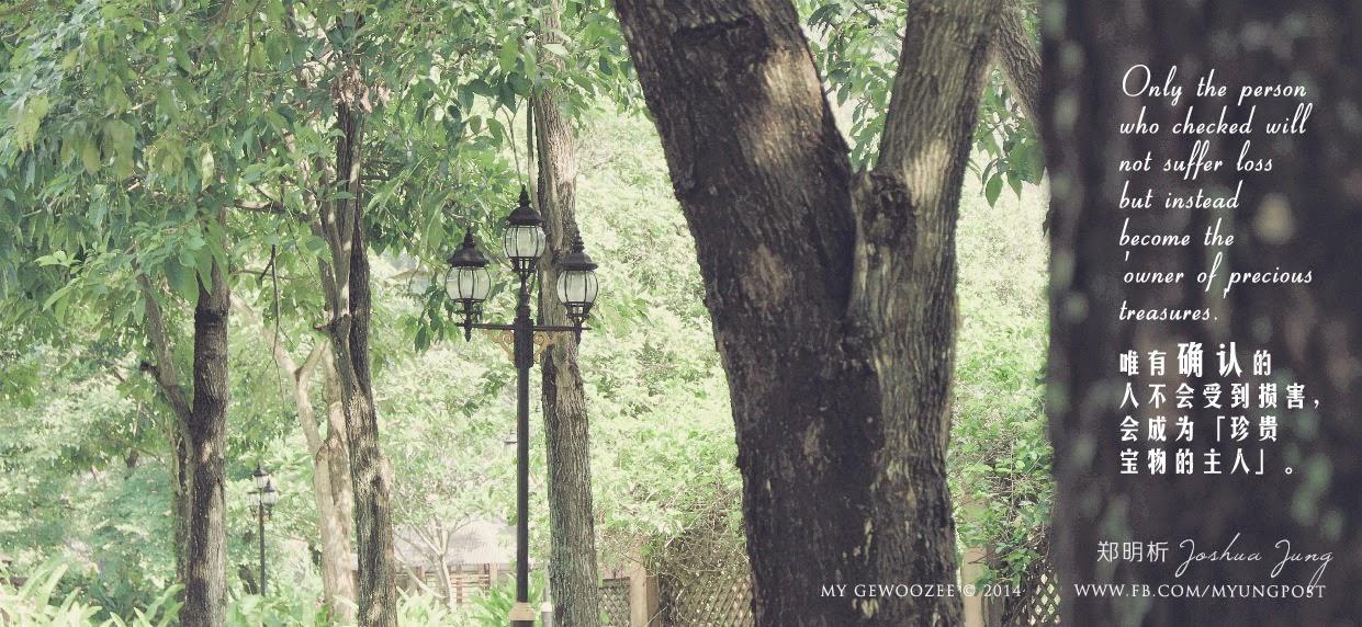 郑明析,摄理,月明洞,公园,路灯,绿色,Joshua Jung, Providence, Wolmyeong Dong, Park, Pedestrian lamp, green