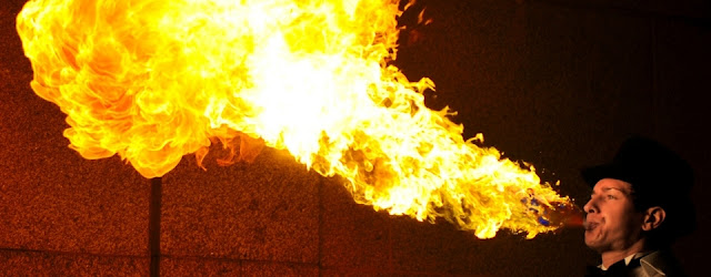 Bangalore Food Fete: Fire Show