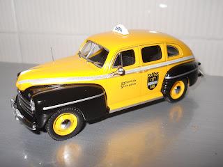 Taxi de Nueva York Ford Fordor Sedan