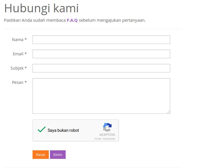 Penampakan Google reCAPTCHA versi 2.0