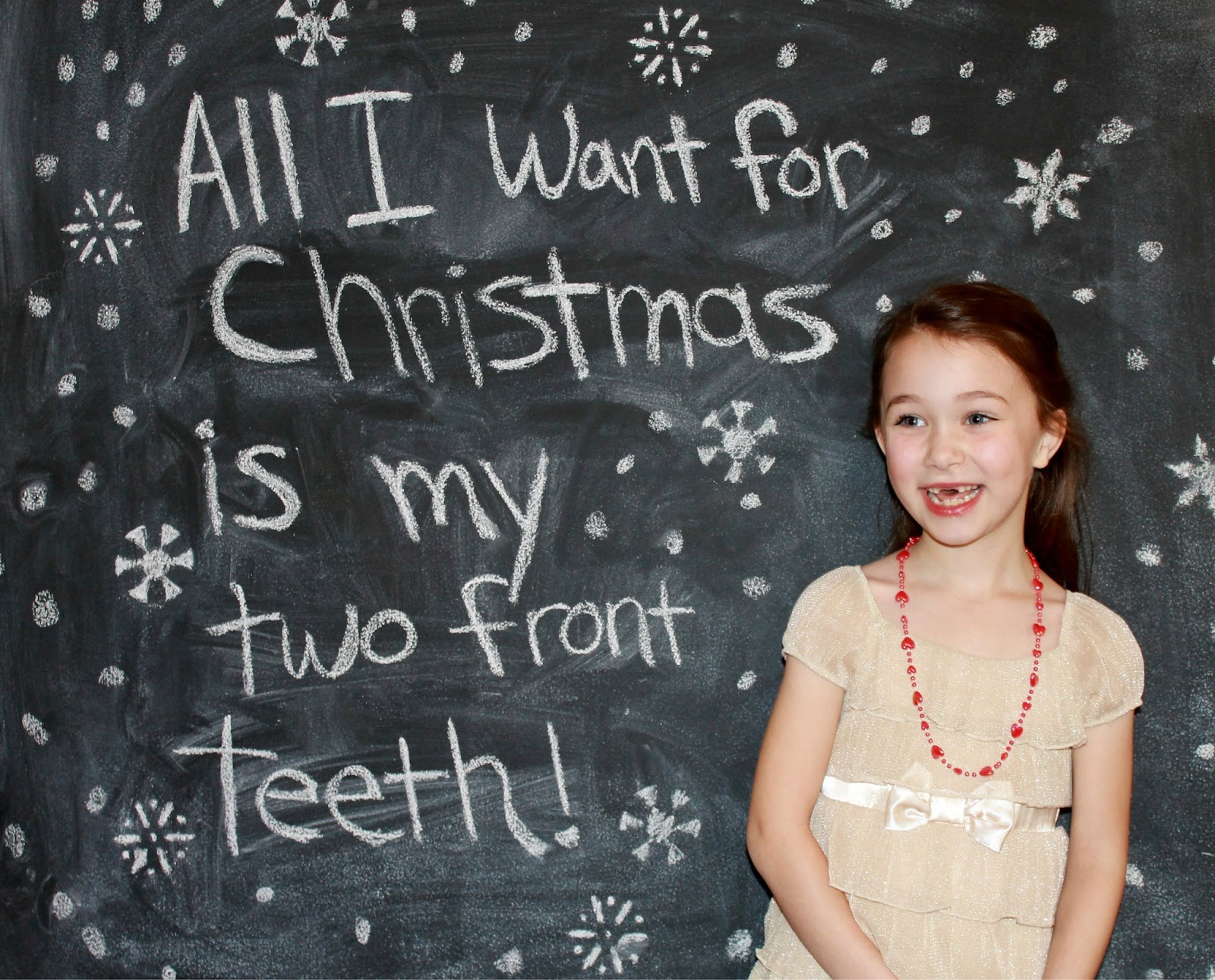 sixty fifth avenue christmas card picture 2012 two front teeth christmas card - All I Want For Christmas Is My Two Front Teeth