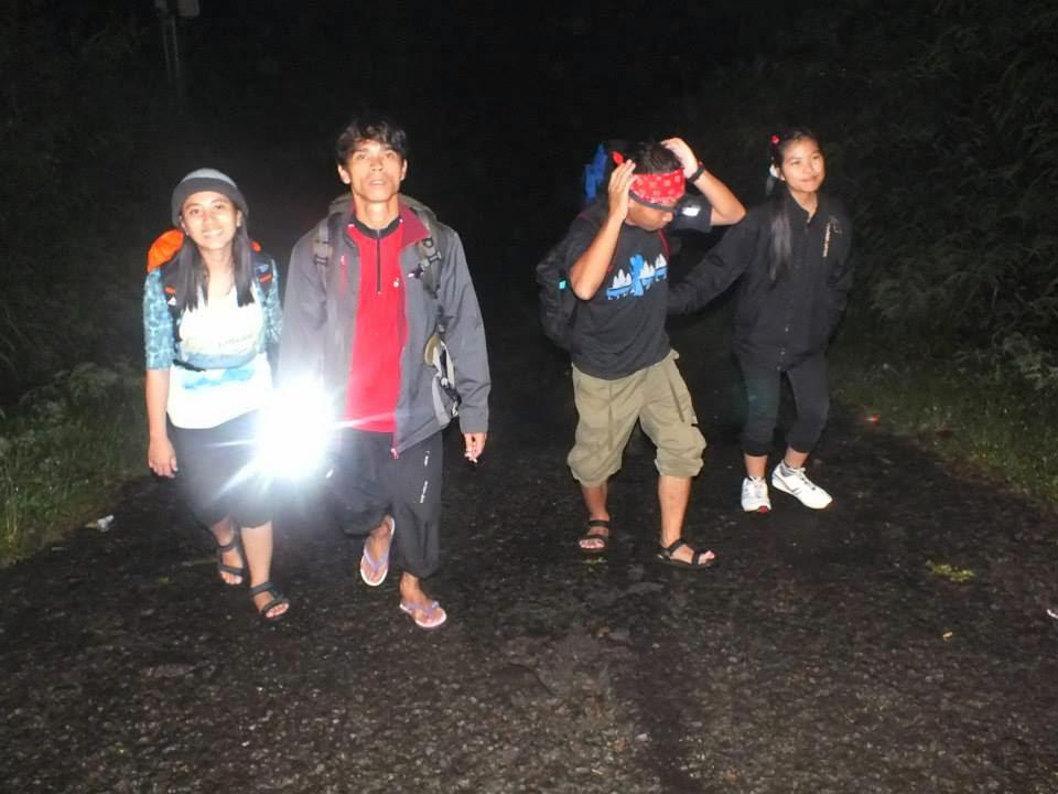 Pendakian Perjalanan Malam
