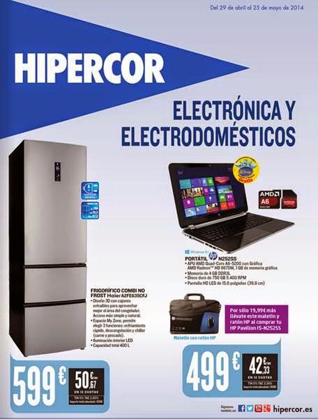 hipercor catalogo electro mayo 2014
