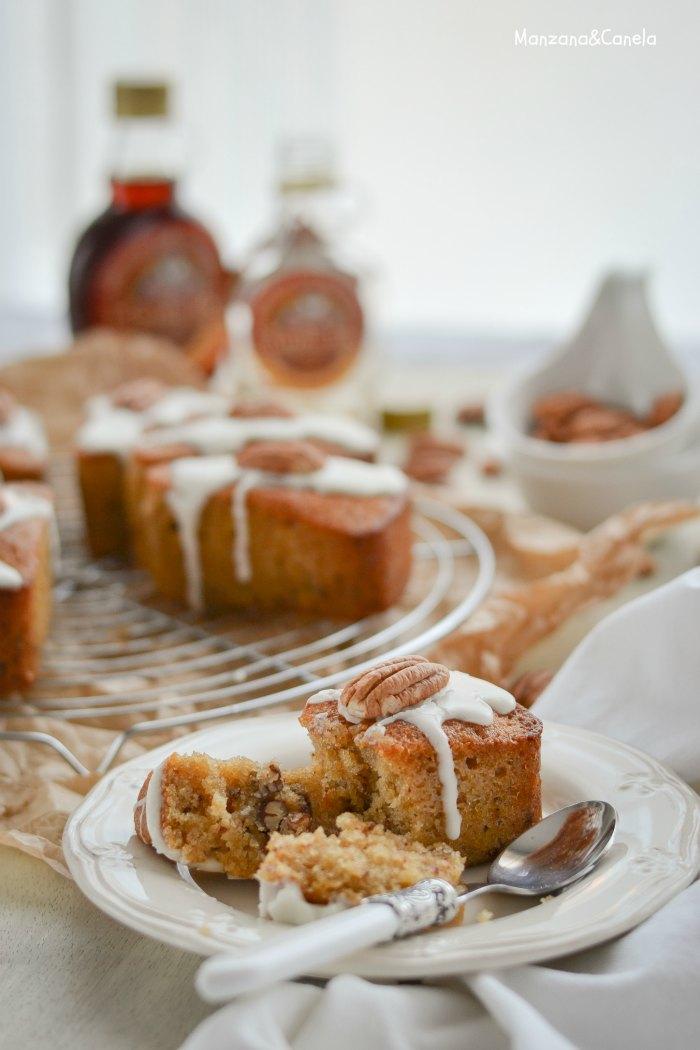 Bizcochitos de sirope de arce y nueces pecanas