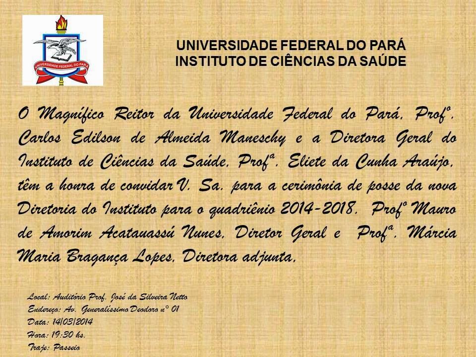Convite posse ICS