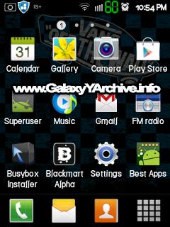 Samsung Galaxy Y - GTS H ng d n c i t IOS 8 cho Samsung Galaxy Y GT S