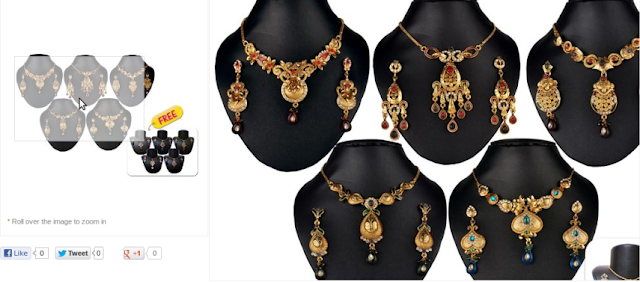 free sample in india Necklace Set Combo by Vivanta VD-CMB-5003 . Buy Best Necklace Set Combo by Vivanta VD-CMB-5003 at Lowest Price Online
