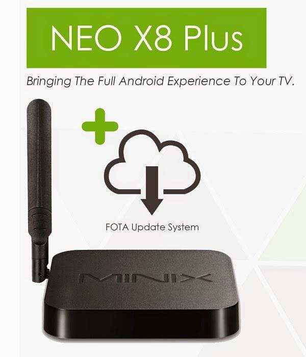 MINIX NEO X8 Plus